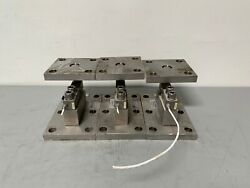 Lot Of 3 Sensortronics Stainless Steel Load Cells 65080 Capacity 10k Lbs