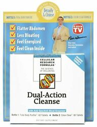 Dual-action Cleanse With Anti-gas/anti-bloat Enzymes - 1 Pack