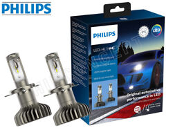 New H4- Philips X-tremeultinon Led Gen2 Headlights 11342xuwx2 | Pack Of 2