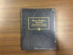 Whitman Classic Coin Album 9130 For Peace Dollars From 1921-1935