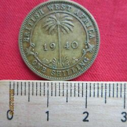 British West-africa - West Africa 1 One Shilling 1920-1952 Various Years