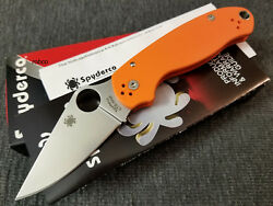 Spyderco Paramilitary For Sale   Terrier