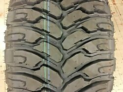 5 New 33 12.50 24 Comforser Mt Tires 10 Ply Mud 33/12.50-24 R24 1250 Offroad