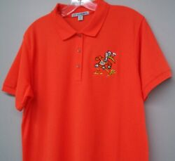 Miami Hurricanes Sebastian With Pipe Ladies Embroidered Polo Xs-6xl Womens New