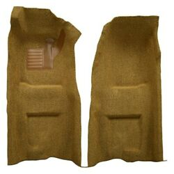 For Chevy Corvette 68 Carpet Essex Replacement Molded Charcoal Front Carpets w/o