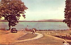 Postcard View Of White Mountains, Nh Usa Endicott Park Not Mailed No Stamp