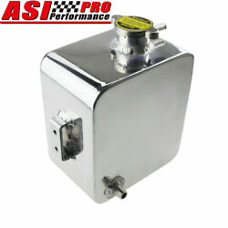 2.5l Aluminum Coolant Radiator Overflow Recovery Water Tank Bottle Universal Usa