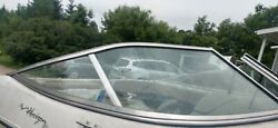 Starboad Side Curved Glass Windshield Panel With Frame 99 Four Winns Horizon 180