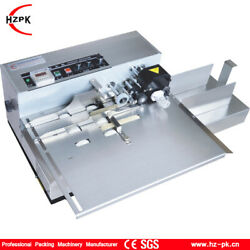 110/220v Auto Solid Ink Coding Packaging Machine Printing Date For Paper Plastic