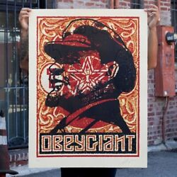 Shepard Fairey Limited Print Lenin Stamp Sold Out Large Format