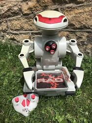 Rad 1.0 Radio Controlled Robot Works Great Complete,new Battery Toymax 1998
