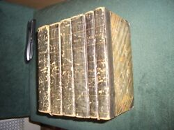 Shakespeare Rowes Edition  6 volume set. 1709.  not many left for sale