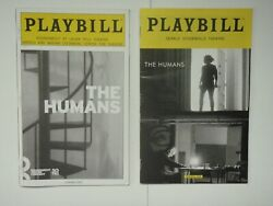 The Humans Playbill Off-broadway And Broadway 2015 And 2016