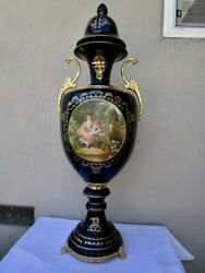 Limoges 43 Tall Colonial Pattern Vase - Original Purchase Price 3300