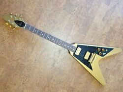 Gibson Flying V 1980 Aztec Gold Limited Edition w/OHSC