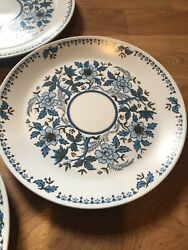 Noritake Progression Blue Moon 9022 Bread And Butter Plate Set Of 8