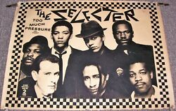 The Selecter Uk Record Company Promo Poster And039too Much Pressureand039 Debut Album 1980