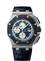 Audemars Piguet Royal Oak Offshore 26401PO.OO.A018CR.01 Ceramic  Platinum Box P