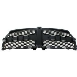 Grille Insert For 2011-2014 Dodge Charger Textured Black Plastic