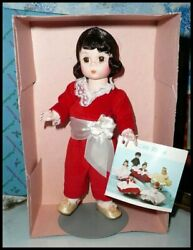 Madame Alexander 8 Red Boy Doll 440 Storyland Collection Nrfb