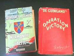 Field Marshal Montgomeryand039s And His Chief Of Staffand039s Account Of Wwii 2 Books