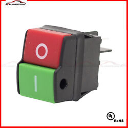 Industrial Machine On Off Push Button Switch 250vac 4 Terminals Table Saw Drill