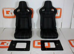 Leather Corbeau Rear Forward Facing Seats Fits Land Rover Defender 90/110 Tdci