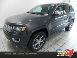 2019 Jeep Grand Cherokee Overland 4x4 Overland 4x4 New 4 dr SUV Automatic 5.7L V8 MDS VVT Granite Crystal Metallic Cle