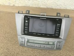 2004-2006 Toyota Camry Solara Radio Navigation GPS Screen w Climate control