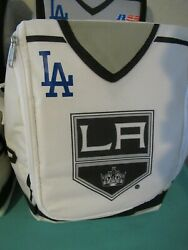 Los Angeles Kings Bailey Lunch Bag Jersey Quick La Kings Customized Dodgers Logo