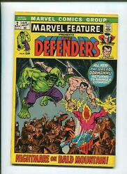 Marvel Feature 2 7.0 The Defenders Second Appearance 1972