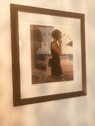 Jack Vettriano - Her Secret Life - Limited Edition Print - Signed 72x58cm