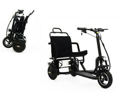 3 Wheel Foldable Portable Electric Mobility Scooter Motor Battery Power Elderly