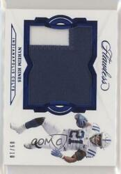 2018 Panini Flawless Sapphire /10 Nyheim Hines Rp-nh Rookie Patch