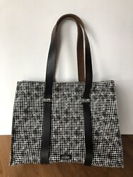 Kate Spade Saturday Tote Canvas and Leather Shoulder Bag $39.99