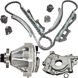 Timing Chain Kit For 97-2002 Ford F-150 97-99 F-250 W/ Water And Oil Pump