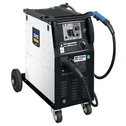 Gys Trimig 200-4s Welder 200a 400v 3 Torch And Earth Clamp Included
