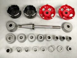 Van Norman/rels Brake Lathe 1 Bore Standard Arbor Nut/washer And Accessory Set
