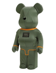 Porter Andtimes Be@rbrick 1000% Tanker Sage Green Special Edition Limited Rare