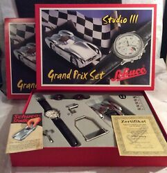 SCHUCO #01642 GRAND PRIX SET STUDIO III NEW NIB