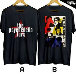 The Psychedelic Furs English Rock Band T shirt 100% Size S 3XL Free Shipping