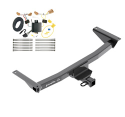 Trailer Tow Hitch For 18-19 Vw Volkswagen Atlas All Styles W/ Wiring Harness Kit