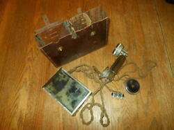 Ww2 Imperial Japanese Navy / Field Trench Phone Telephone - Rare Early Variant