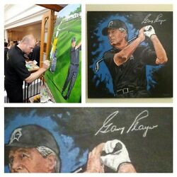 Gary Player Signed Original By Patrick J. Killian