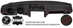 Red Stitching Dash Dashboard Leather Cover Fits Datsun 260z 2+2
