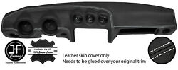 White Stitching Dash Dashboard Leather Cover Fits Datsun 260z 2+2