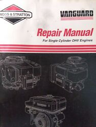 Briggs Stratton Ohv Single Cylinder Engine Repair Service Manual Lawn Mower 1996