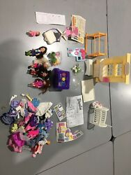 Mixed Barbie Lot / 4 Clothed Kelly Dolls / Other Outfits And Accessories