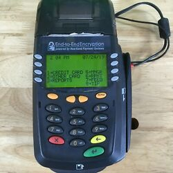 Heartland Payment Systems E3 Credit Card Terminal W/ Chip Reader And Printer