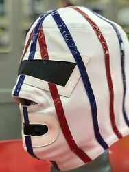 Mexican Wrestling Mask Of Lucha Libre Pro Grade Dr. Wagner Santo Chicano Power